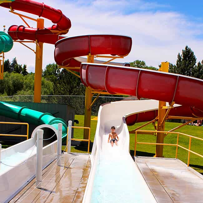 Fun Waterslides in Idaho