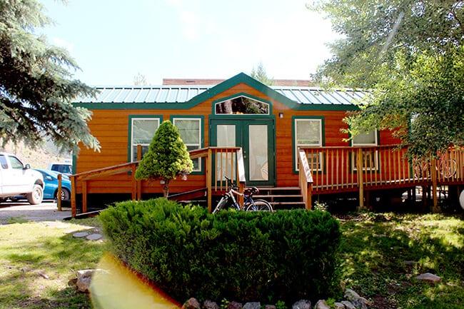 Idaho KOA cabins