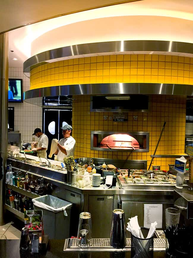 Inside California Pizza Kitchen