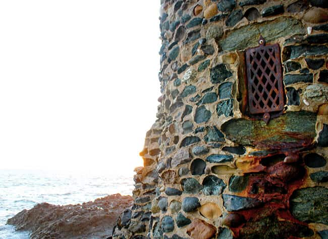 Laguna Beach Castle Detail