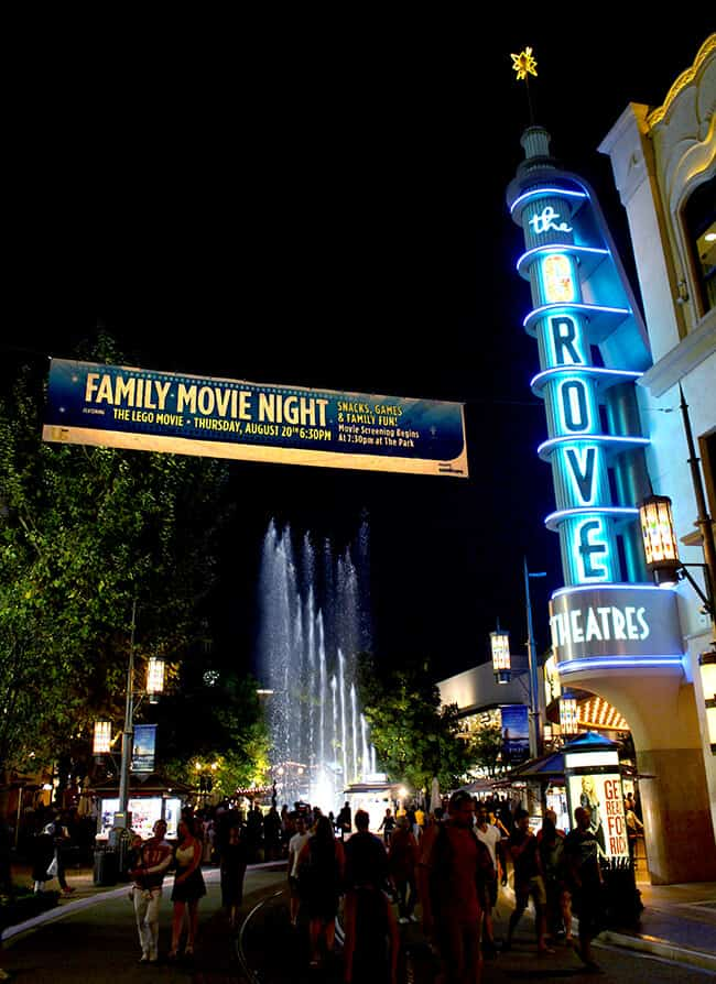Outdoor Family Movie at the Grove