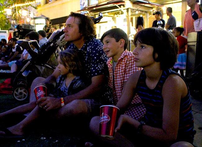 Outdoor Family Movie ideas
