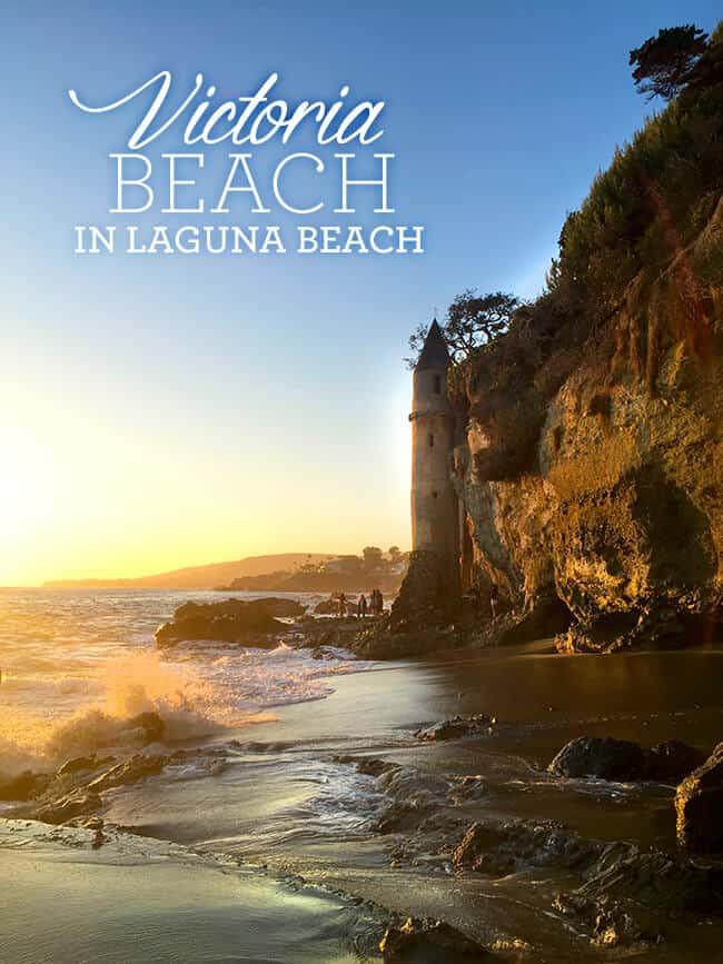 Victoria Beach in Laguna Beach, CA