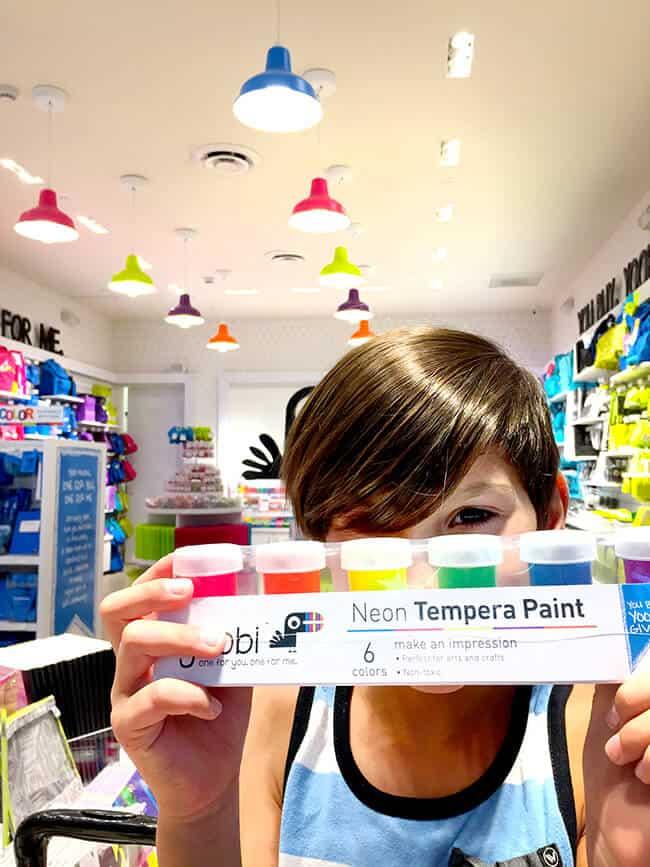 Yoobi Finger Paints