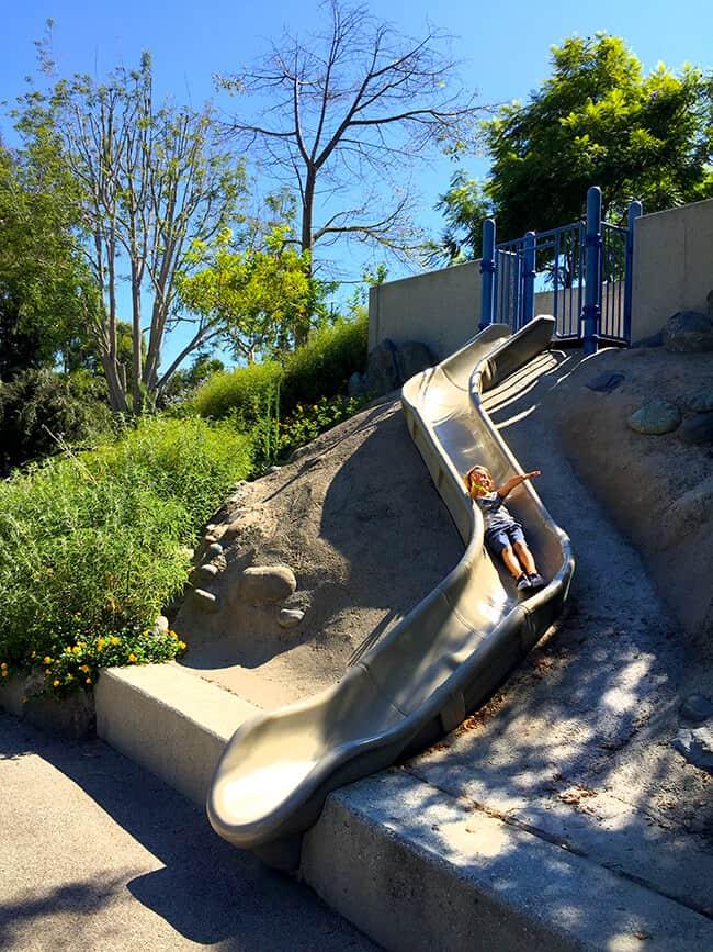 Bluebird Playground in Laguna Beach