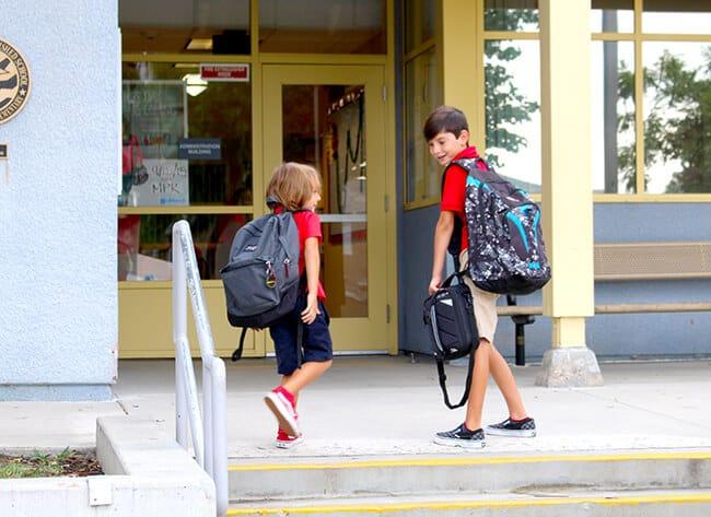 First Day of School Memories