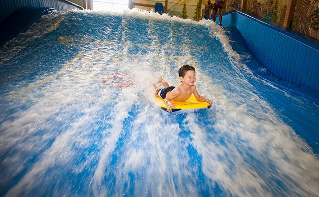 Great Wolf Lodge Flowrider Slide