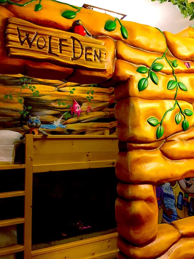 Great Wolf Lodge Kids Room