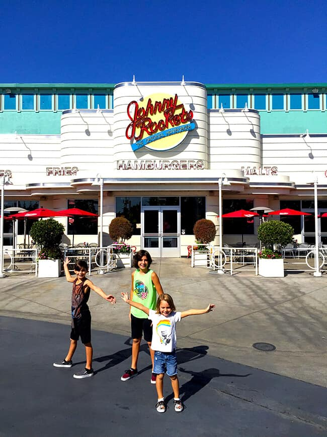 Johnny Rockets in Orange County