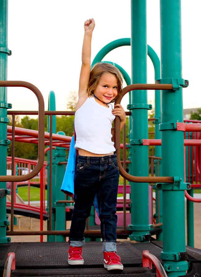 Playground Superhero Kids