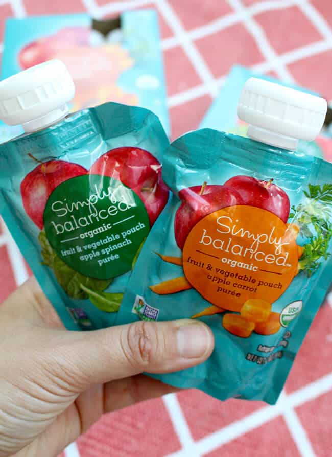 Simply Balanced Organic Fruit and Vegetable Pouches