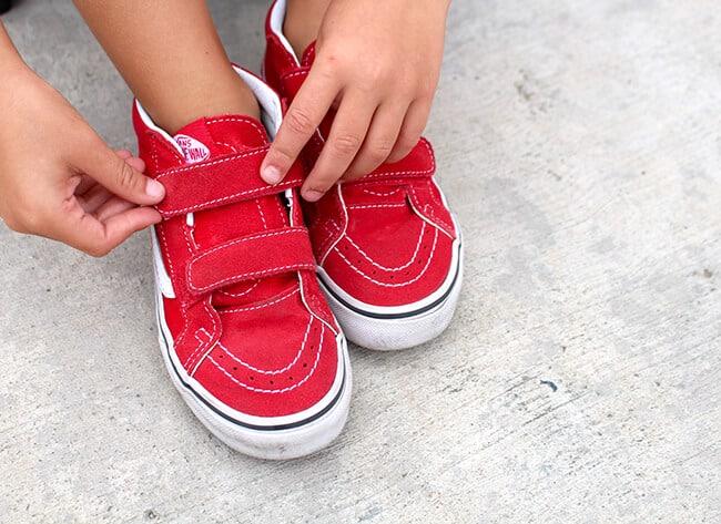 Van's Tennis Shoes for Kids