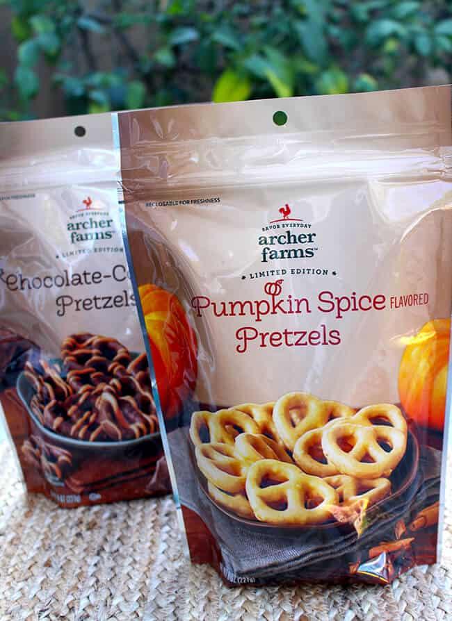Archer Farms Pumpkin Spice Pretzels