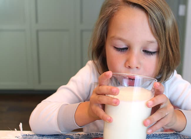 Benefits of Kids Drinking Milk