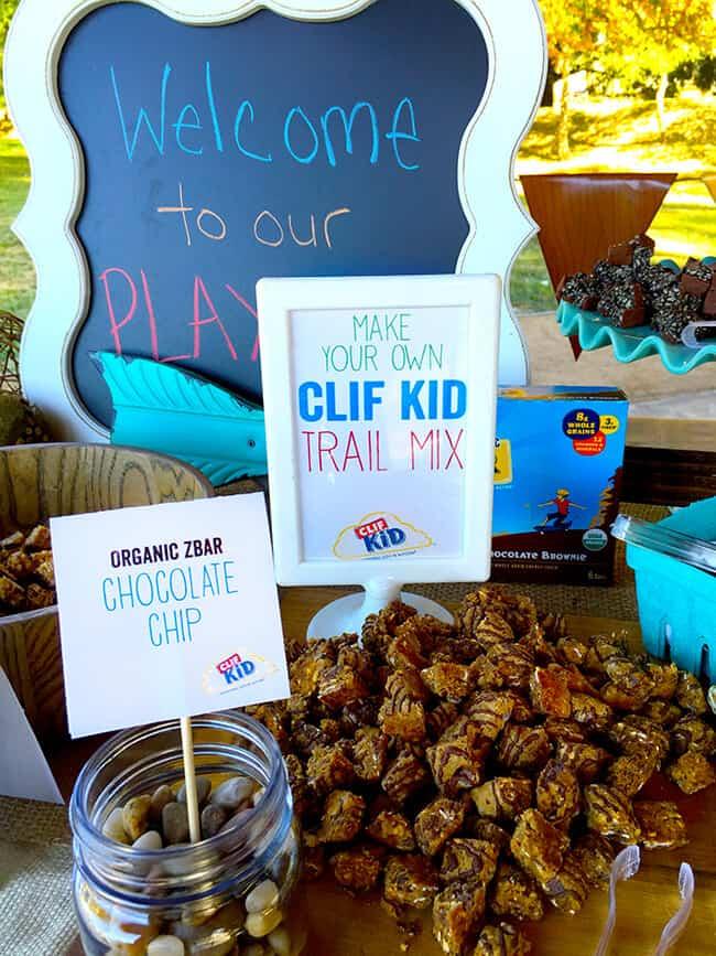 Clif Bar Trail Mix idea