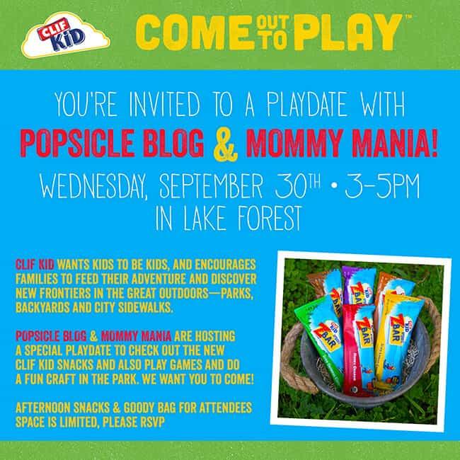 Clif Kid Invite