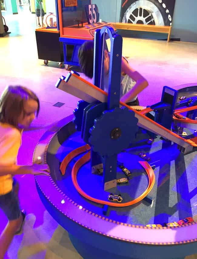 Discovery Science Center Hot Wheels Exhibit