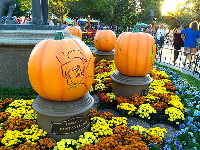 Disneyland Halloween Time Decorations