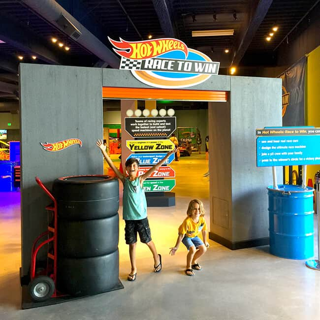 Hot Wheels Exhibit at Discovery Cube OC