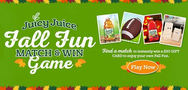 Juicy Juice Contest Giveaway