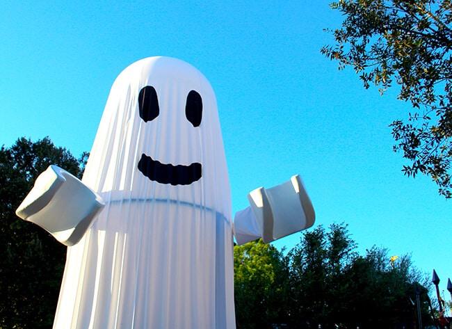Legoland Halloween Ghost