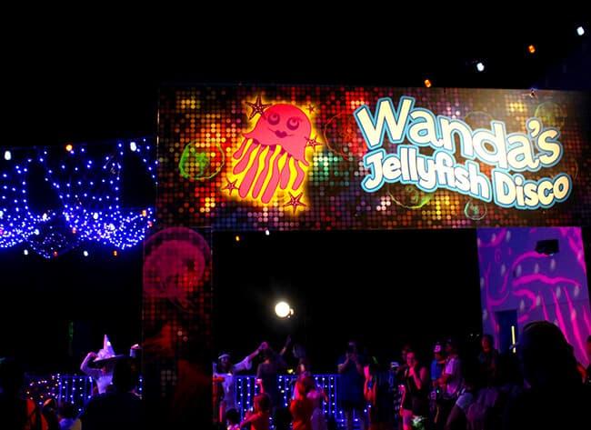 Legoland Halloween Jelly Fish Disco