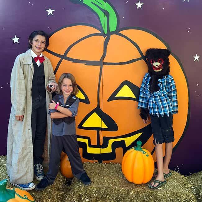 Legoland Halloween Photo Spots
