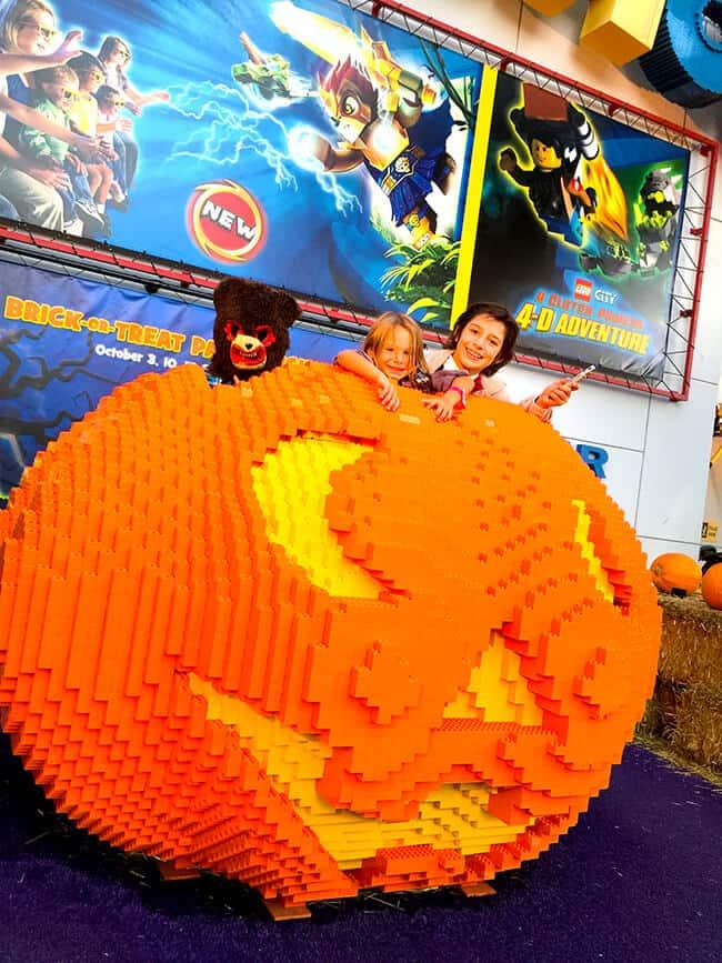 Legoland Halloween Pumpkin