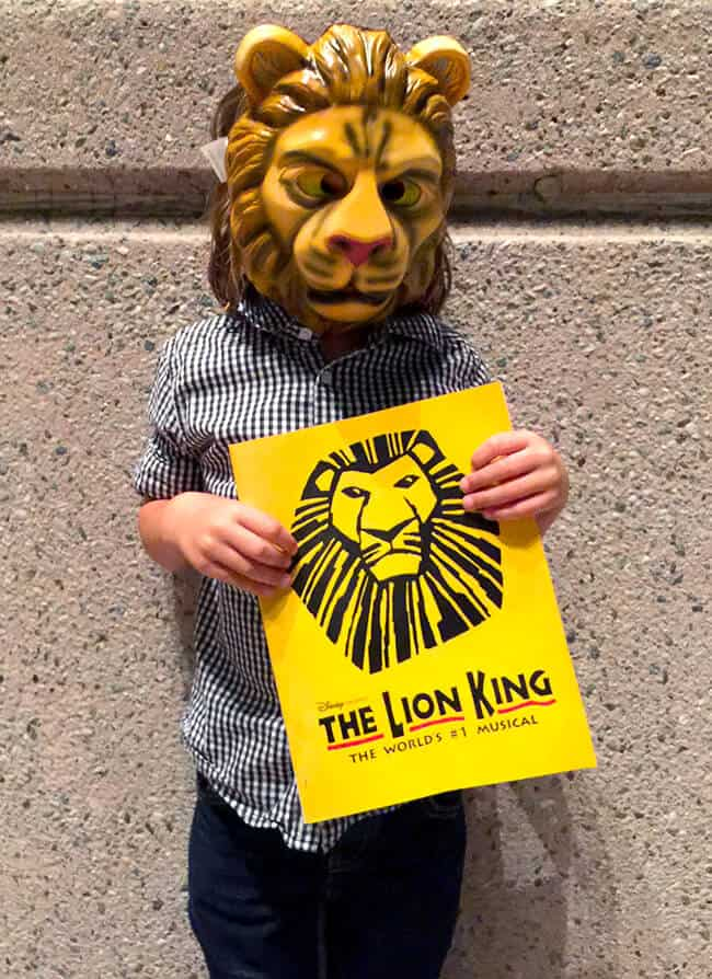 Lion King at the Segerstrom Orange County