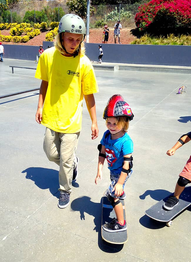 Little kid skater