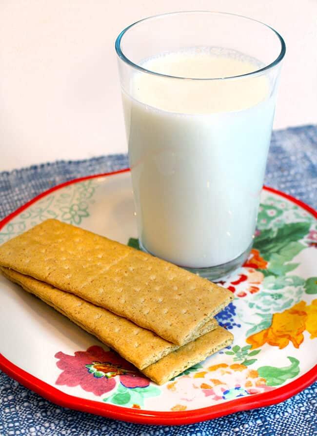 Milk and Graham Crackers