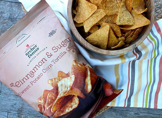 Target Cinnamon Sugar Tortilla Chips