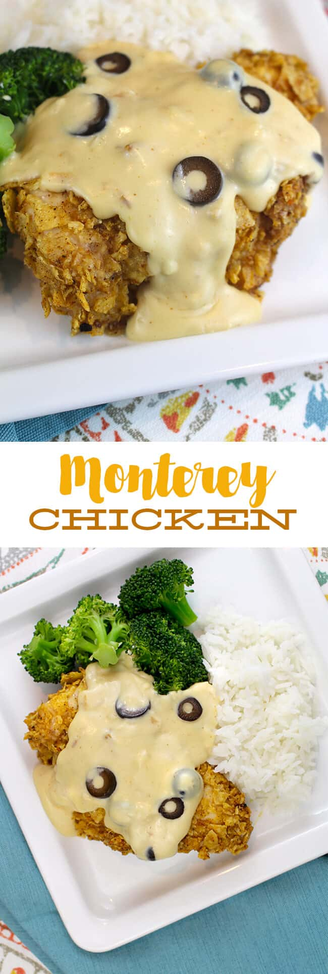Best Family Chicken Recipe - Monterey Chicken