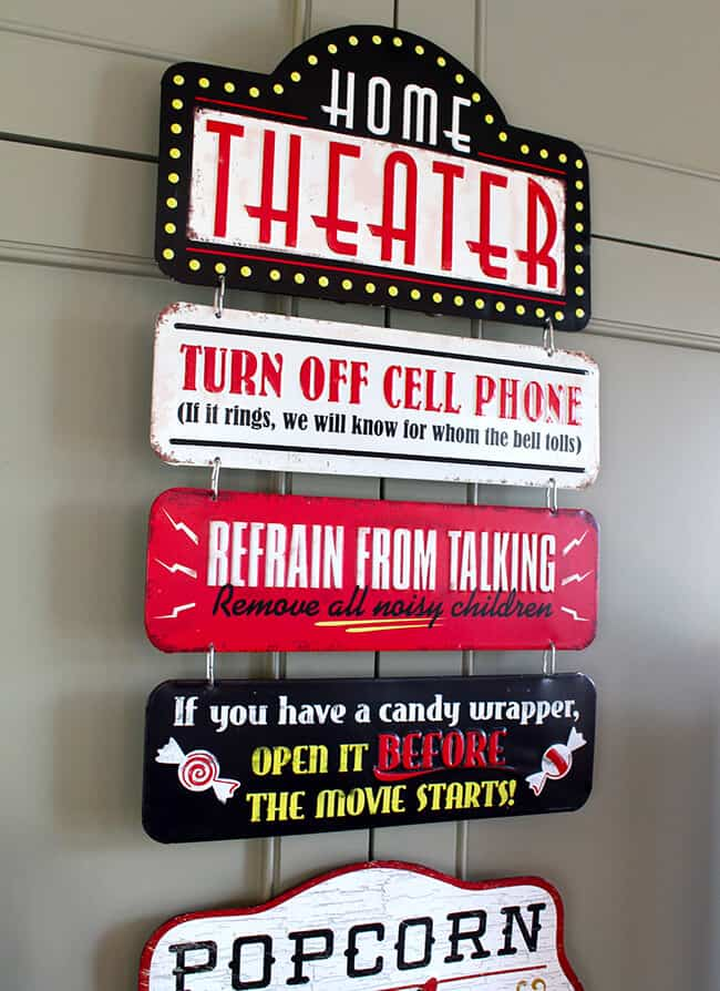 Best Vintage Movie Signs