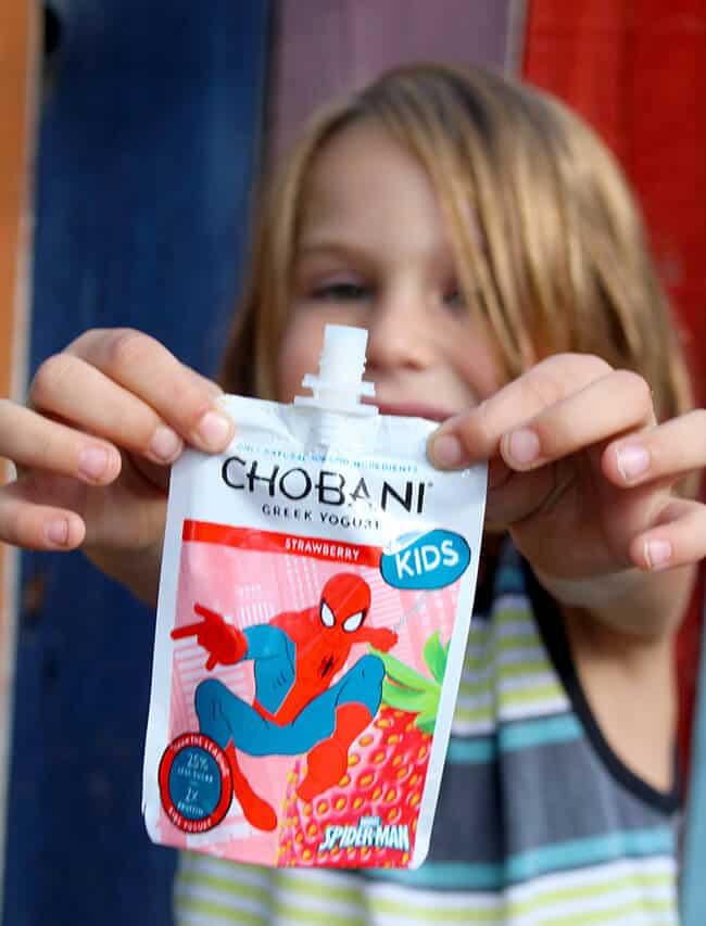 Chobani Kids Spiderman Greek Yogurt