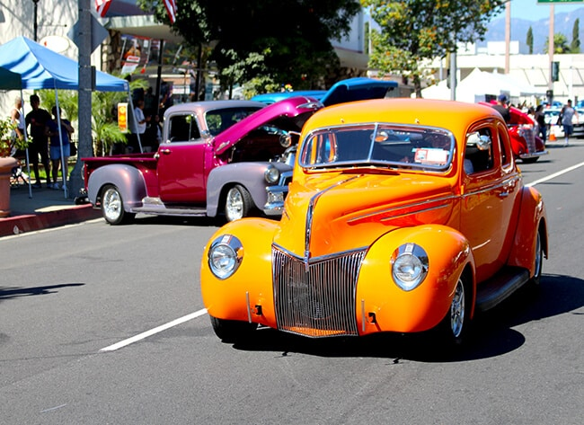 Cruisin Reunion Car Show in Ontario, CA