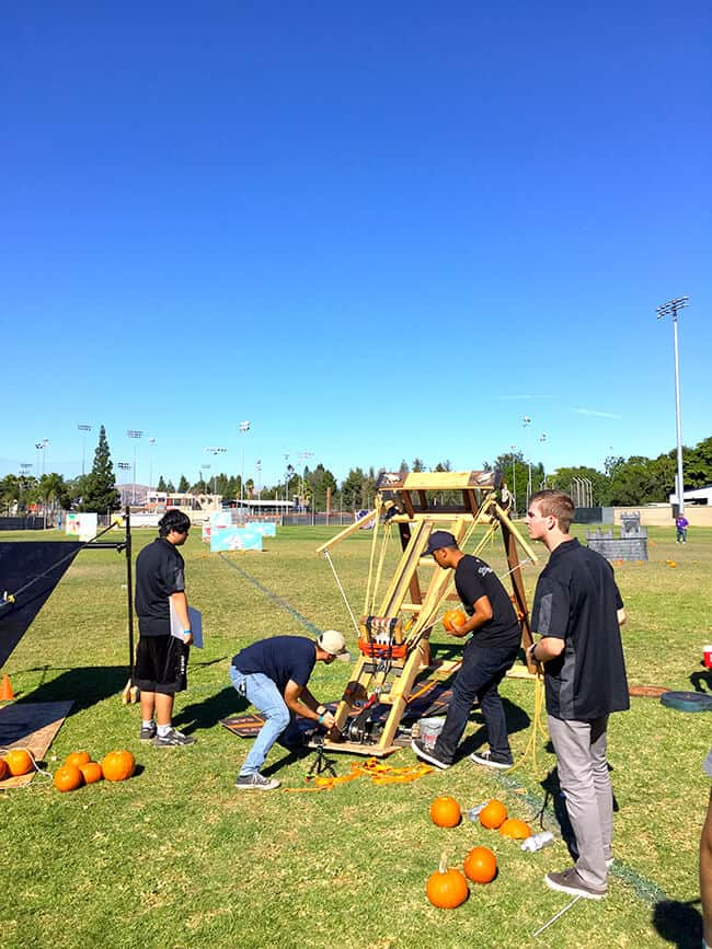 Discovery Cube Pumpkin Launch Contestants