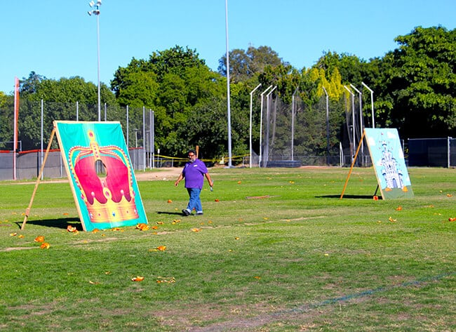 Discovery Cube Pumpkin Launch Targets