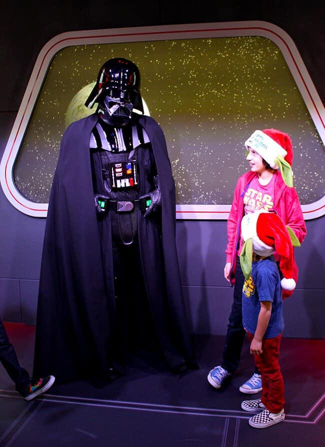 Disneyland Darth Vader Exerience