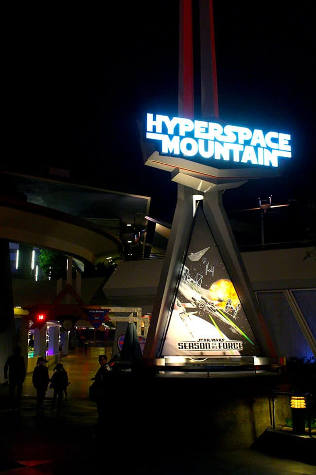 Disneyland Hyperspace Mountain