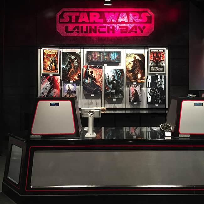 Disneyland Launch Bay Store