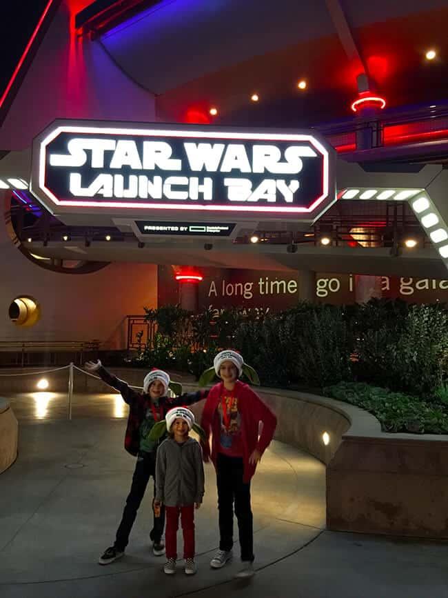 Disneyland Star Wars Launch Bay Store