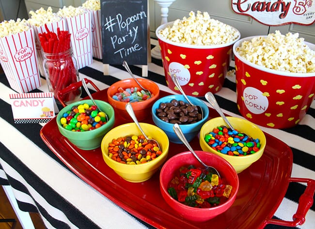 Fun Popcorn Party Ideas