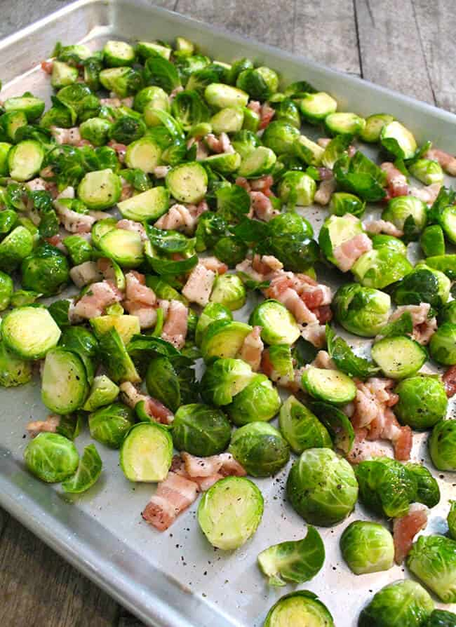 How to Roasted Brussels Sprouts