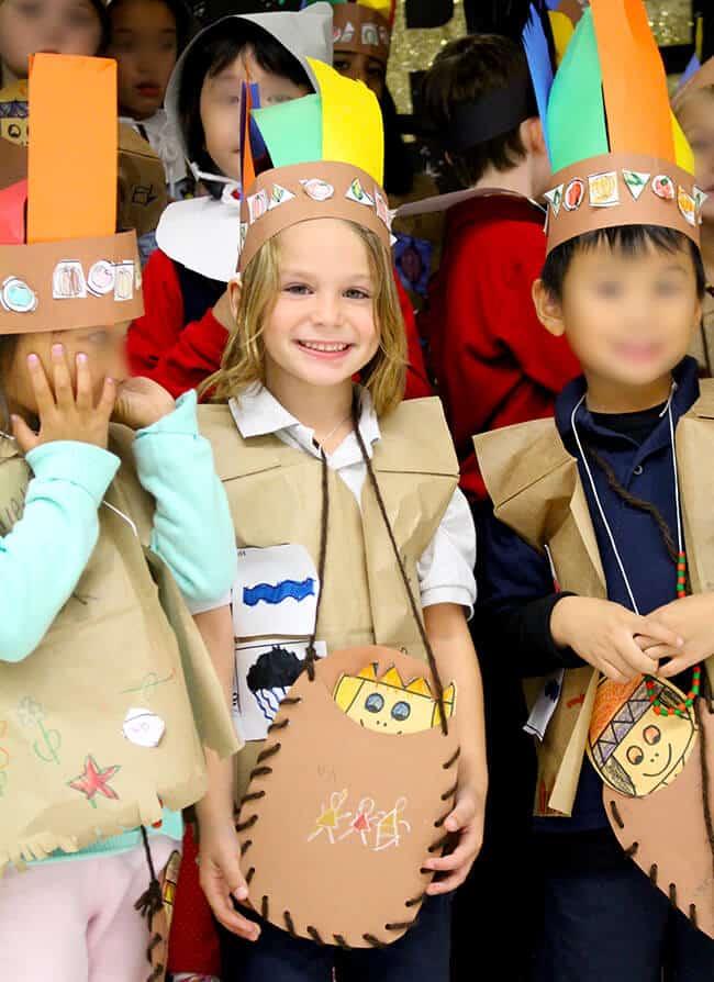 Kindergarten Thanksgiving Program