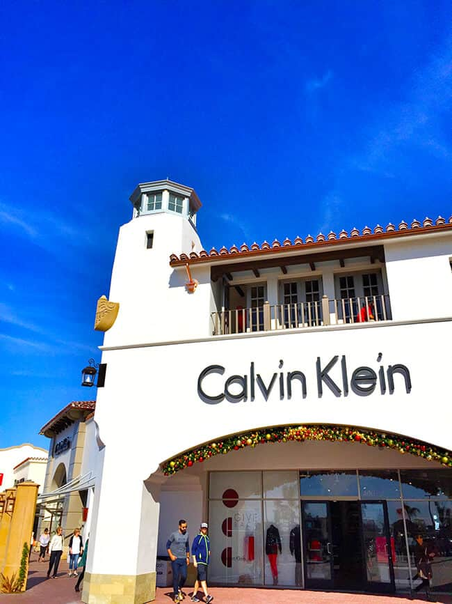 Outlets at San Clemente Calvin Klein