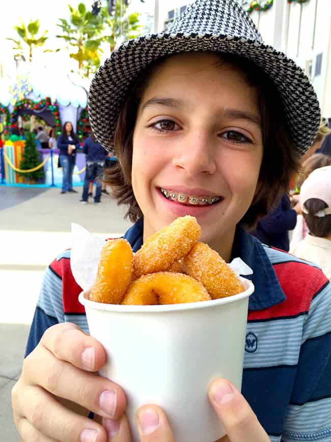 Apple Cider Donuts at Grinchmas