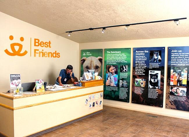 Best Friends Animal Sanctuary Lobby