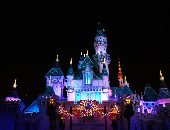 Cinderella Castle at Disney Holidays
