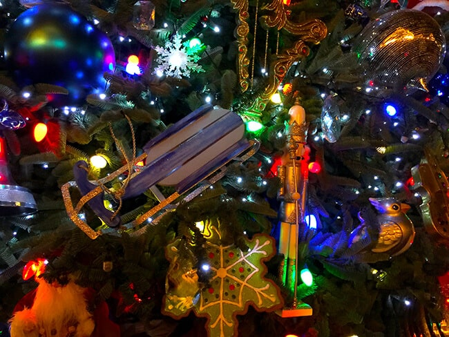 Disneyland Christmas Tree Ornaments